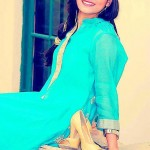 Minahil & Eleaza Mid Summer Dresses 2013 For Girls 008