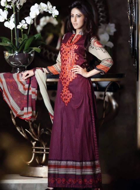 Monsoon Festivana Vol 2 2013 For Women by Al Zohaib Textile 001
