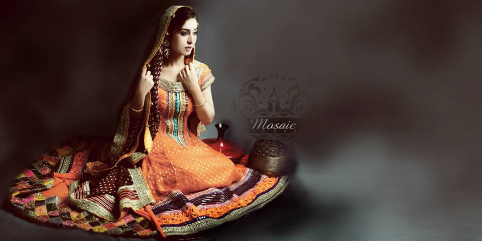 Mosaic By Sundus Bridal Wear Dresses Collection 2013 For Women 008