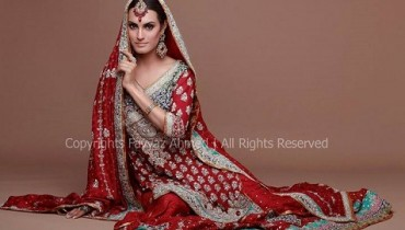 Nadia Hussain Stylish Embroidered Wedding 2013 001