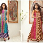 Pehnawa Mid-Summer Fall Dresses 2013 By ZS Textiles 002