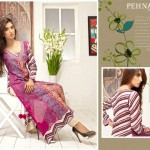 Pehnawa Mid-Summer Fall Dresses 2013 By ZS Textiles 005