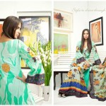 Pehnawa Mid-Summer Fall Dresses 2013 By ZS Textiles 007