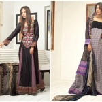 Pehnawa Mid-Summer Fall Dresses 2013 By ZS Textiles 008