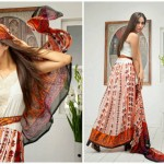 Pehnawa Mid-Summer Fall Dresses 2013 By ZS Textiles 009