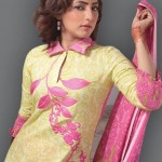 Popular Classic Lawn Latest Dresses Collection 2013 003