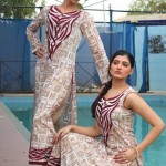Popular Classic Lawn Latest Dresses Collection 2013 004