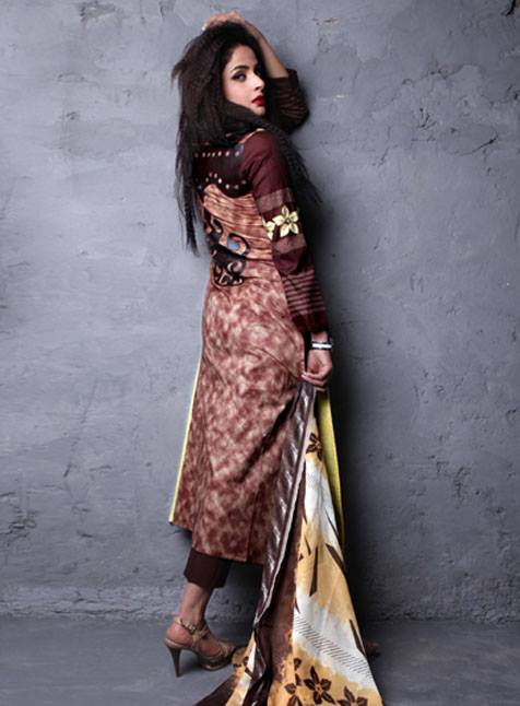 Popular Lawn Collection 2013 For Women 006