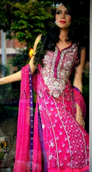 Rangoli Fall Dresses Collection by Sara Naqvi 001