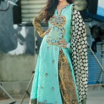 Reeva Designer Embroidered Dresses Collection 2013 by Shariq 005