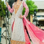 Reeva Designer Embroidered Dresses Collection 2013 by Shariq 006