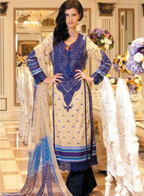 Rizwan BEYG Limited Edition Collection 2013 by Al Zohaib For Women 001