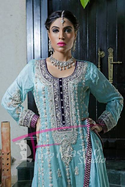 Samreen Haider Fall Eid Dress New Collection 2013 For Women (1)
