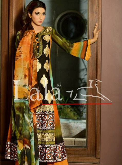 Sana & Samia Mid Summer Collection 2013 For Women by Lala 001