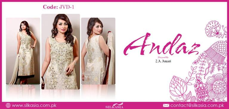 Silkasia Andaz Party Wear Dress Collection 2013 007