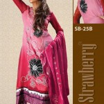 Strawberry Chiffon Collection 2013 For Women 004