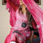 Strawberry Chiffon Collection 2013 For Women 005