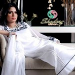 Winter Fall Party Wear Dresses Collection 2013 by Shades By Afshan 002