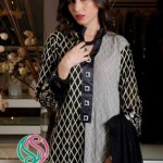 Winter Fall Party Wear Dresses Collection 2013 by Shades By Afshan 004