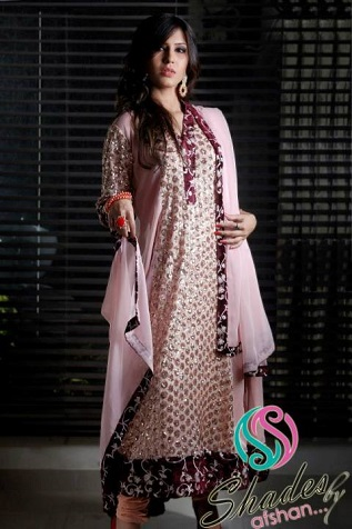 Winter Fall Party Wear Dresses Collection 2013 by Shades By Afshan 006