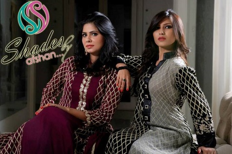 Winter Fall Party Wear Dresses Collection 2013 by Shades By Afshan 009