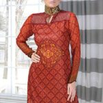 Aalishan Chiffon Lawn Collection 2013 by Dawood Textiles 001