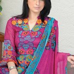 Aalishan Chiffon Lawn Collection 2013 by Dawood Textiles 002