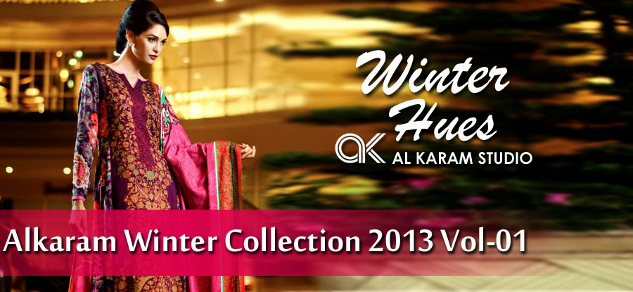 Al Karam Fall Winter Eid Collection 2013 For womens