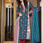 Al Karam Winter Hues Latest Collection 2013 001