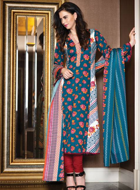 Al Karam Winter Hues Latest Collection 2013 005