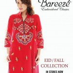 Bareeze Eid Winter Fall Embroidered Classic Collection 2013 1