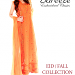 Bareeze Eid Winter Latest Fall Embroidered Collection 2013 001