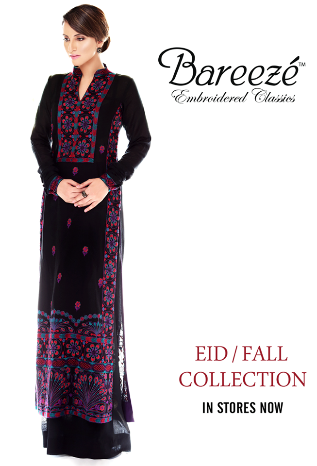 Bareeze Eid Winter Latest Fall Embroidered Collection 2013 004