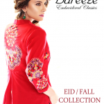Bareeze Eid Winter Latest Fall Embroidered Collection 2013 005
