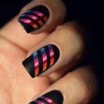 Beautiful Nail Art Designs 2013 for Collage Girls 004