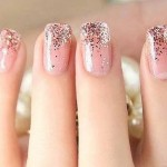 Beautiful Nail Art Designs 2013 for Collage Girls 005