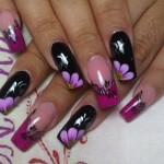 Beautiful Nail Art Designs 2013 for Collage Girls 006