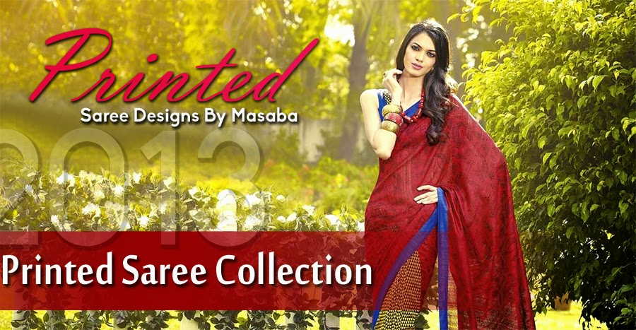 Diwali Printed Saree Collection By Masaba For Women 5