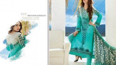 Eid Paris Linen Latest Collection by Firdous Textiles 001