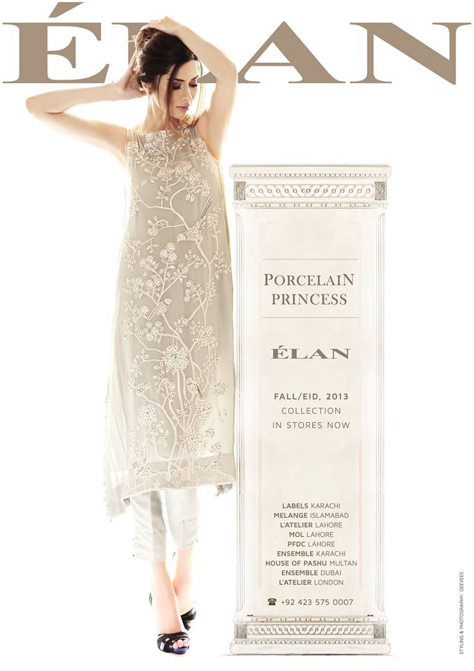 Elan Fashion Winter Latest Dresses Collection 2013 004
