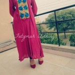 Fatymah Stylish Eid Party Wear Dresses 2013-2014 For Ladies (2)