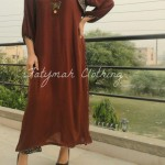 Fatymah Stylish Eid Party Wear Dresses 2013-2014 For Ladies (3)