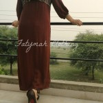 Fatymah Stylish Eid Party Wear Dresses 2013-2014 For Ladies (5)