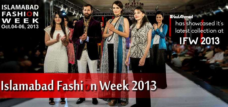 Gul Ahmed Collection At Islamabad Fashion Week 2013