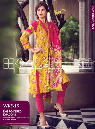 Gul Ahmed Dresses Collection 2013 001
