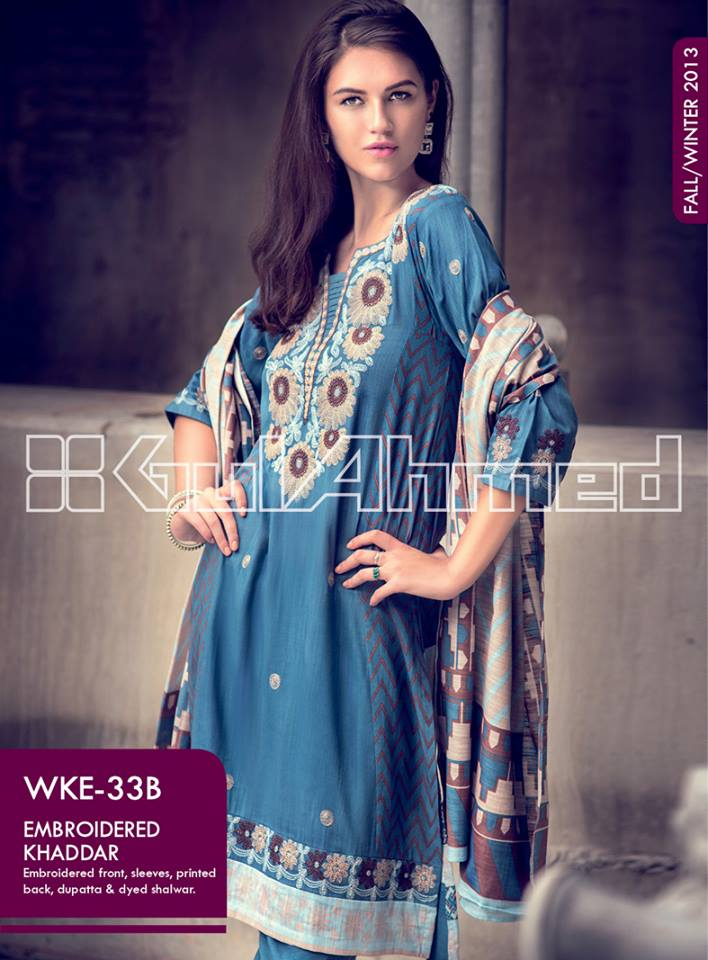 Gul Ahmed Dresses Collection 2013 002