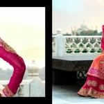 Indian Floor Length Suits By Rama Taj Mahal Collection 2013 2