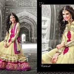 Indian Floor Length Suits By Rama Taj Mahal Collection 2013 3