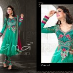 Indian Floor Length Suits By Rama Taj Mahal Collection 2013 5
