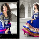 Indian Floor Length Suits By Rama Taj Mahal Collection 2013 6